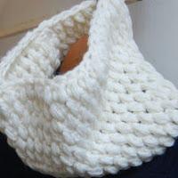 変わり玉編みの作品例,
