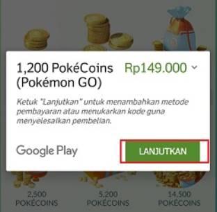 cara dapat poke coin pokemon go gratisan