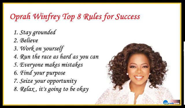 Oprah Winfrey's Top 8 Rules for Success inspiring