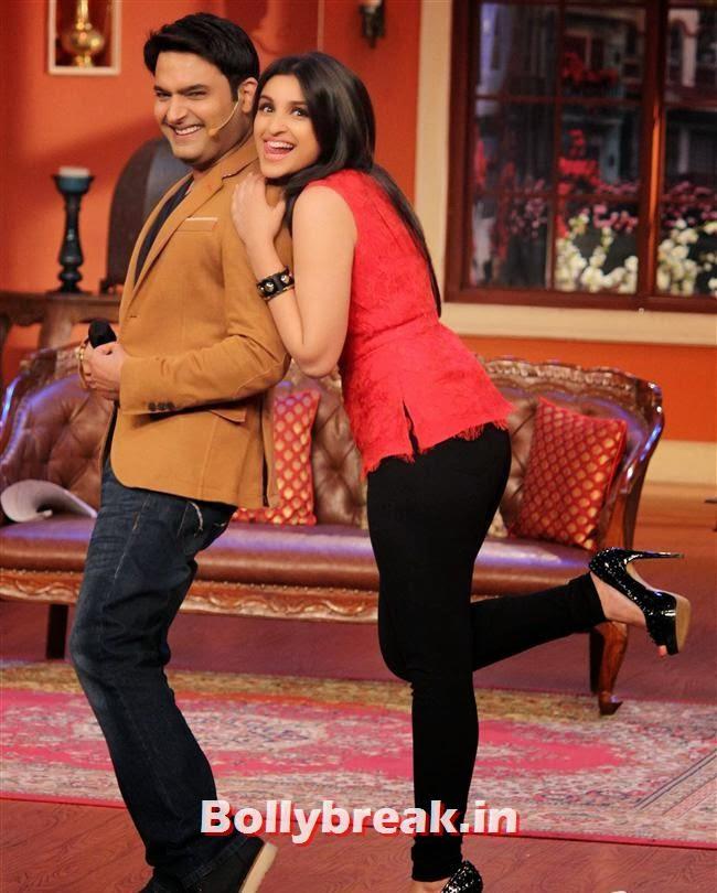 Kapil Sharma and Parineeti Chopra, Parineeti & Sidharth on Comedy Nights with Kapil