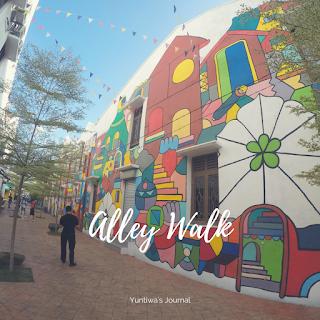 tempat wisata menarik di Melaka - street mural art