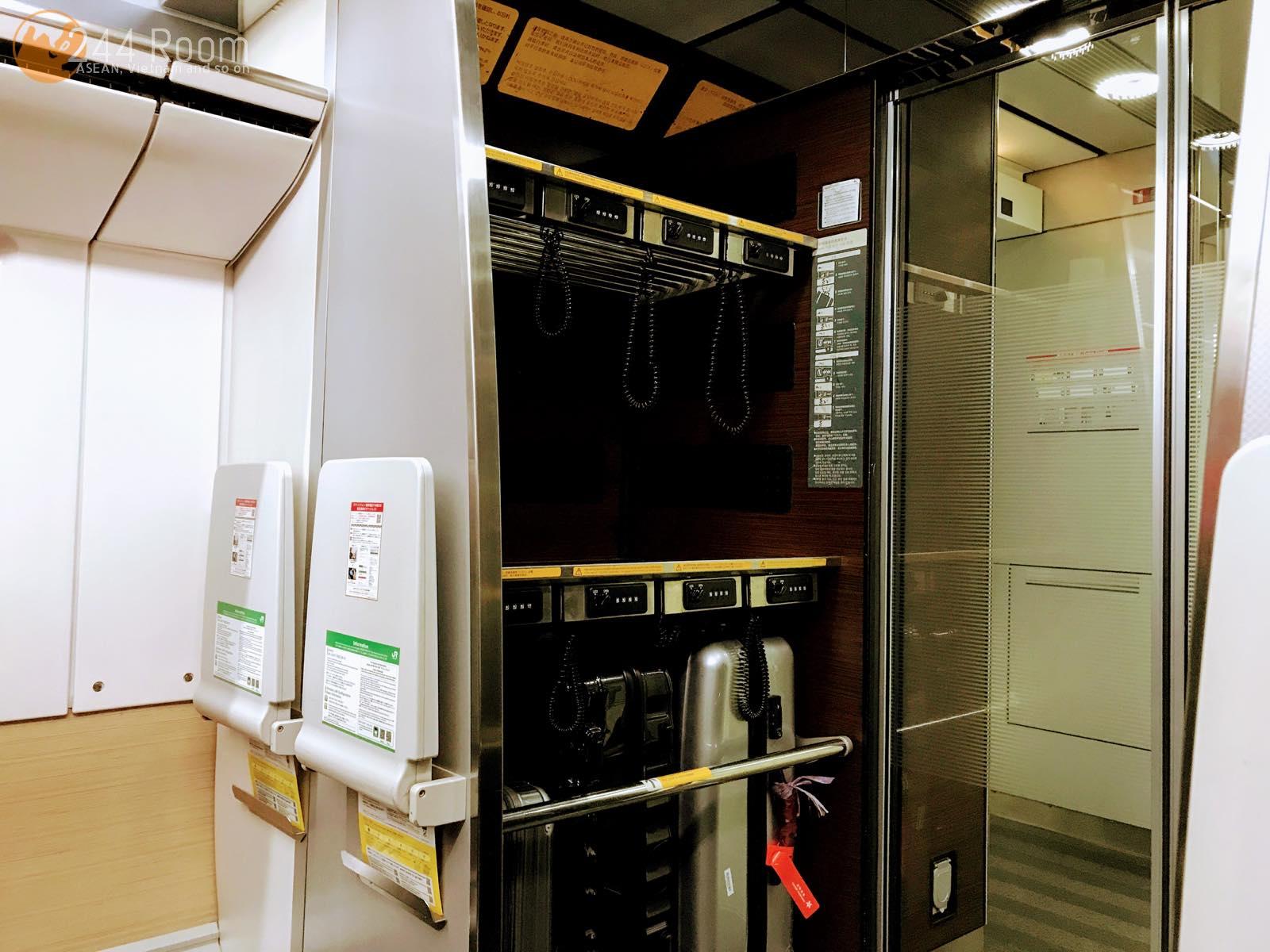 成田エクスプレス車内 Narita-express-train-interior2