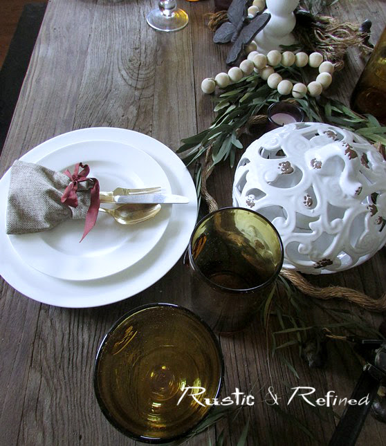 Table decorations for Seasonal Decorating