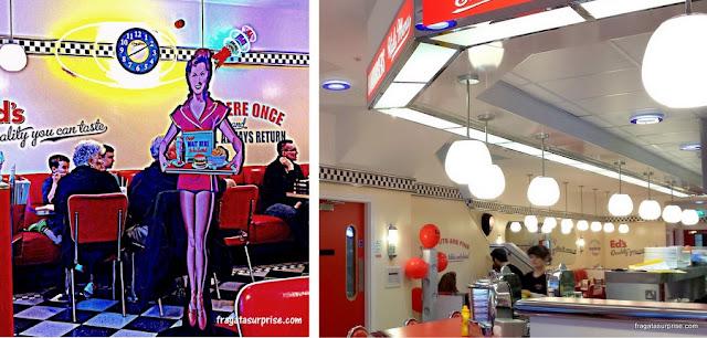 Onde comer em Liverpool: Ed's Easy Diner