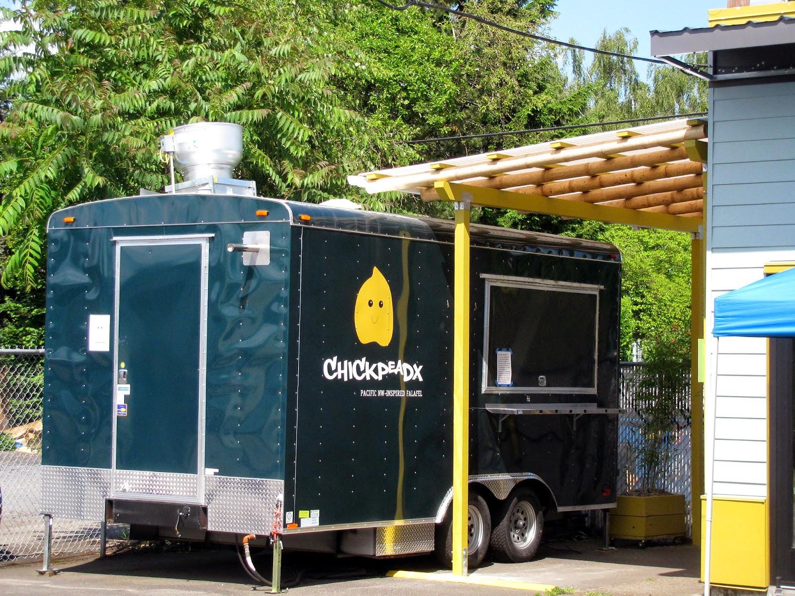 Food Truck Mural Mockup