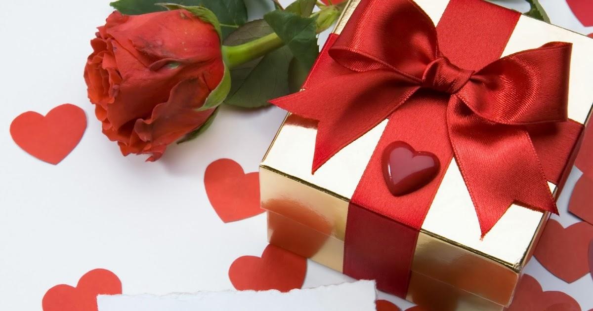 Solo Fondos De Pantalla San Valentin: Fondo De Pantalla Dia De San Valentin Regalo Con Rosa