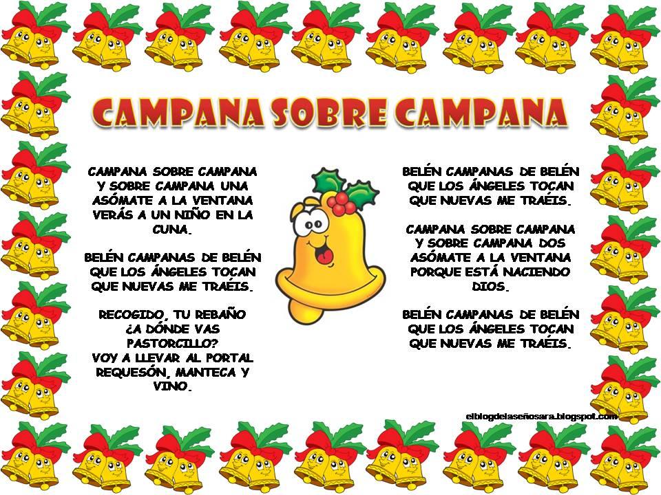 Imagenes De Villancicos Campana Sobre Campana.Letra De Villancico De Las Campanas De Dco Precsandseco Gq