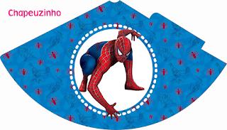 Para hacer Sombreros de Spiderman.