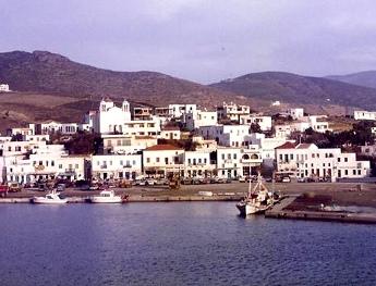 Vistas de Andros - Islas Griegas