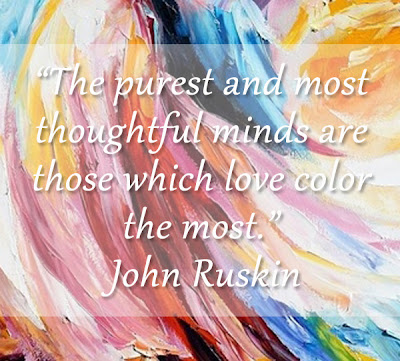 John Ruskin Quote on Color