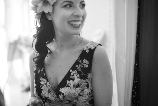 Vintage Tea Party, Nadia Manzato Wedding Couture, 50s style, pin up