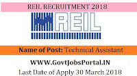 Rajasthan Electronics & Instruments Limited Recruitment 2018– Technical Assistant