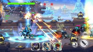 Download Heroes Infinity MOD APK Unlimited Coins Gems v1.10.3 Full Hack for Android Update Terbaru 2017
