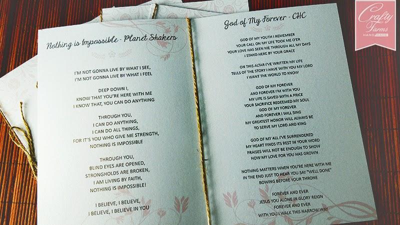 wedding card malaysia crafty farms handmade rustic program