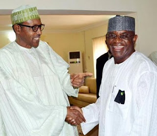 David Mark, Buhari, Others In Secret Meeting At Aso Rock