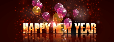 Happy New Year FB Timeline Cover Photo 2020