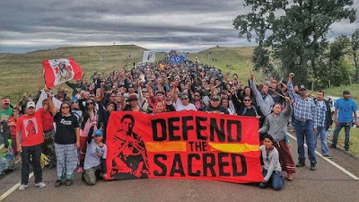 The Blue Kachina & the Water Protectors at Standing Rock - THE NATIONS GATHER
