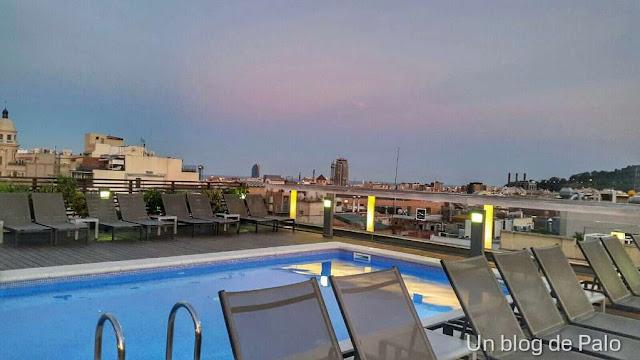Vistas desde la terraza del Hotel Jazz