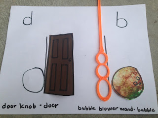 "Teach preschooler difference between ""b"" and ""d"""