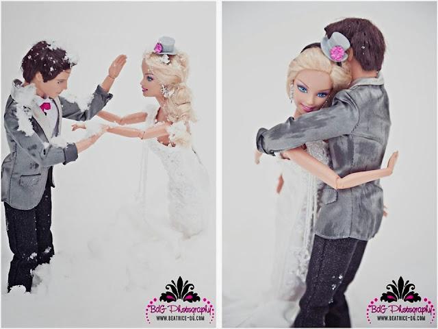 Trash the dress: Barbie e Ken