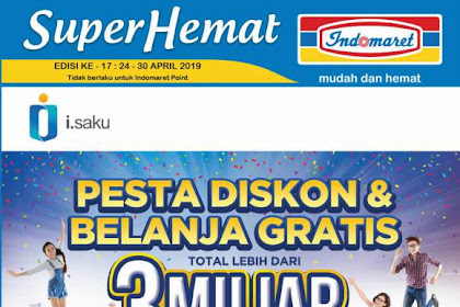 Katalog Indomaret Promo 24 - 30 April 2019