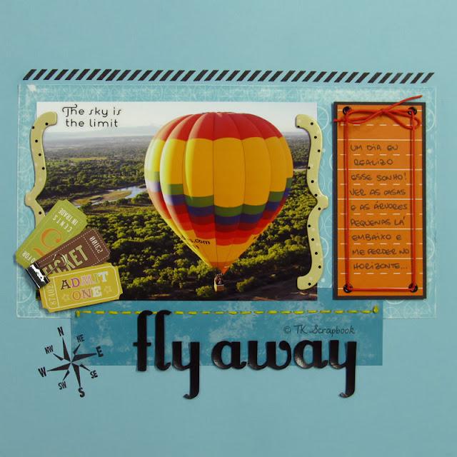 página LO viagem balão