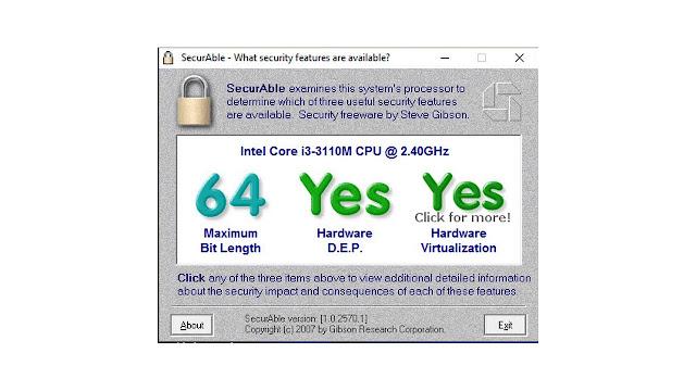 طريقة معرفة إذا كان معالج حاسوبك يدعم تشغيل الوندوز 64bit أو 32bit فقط