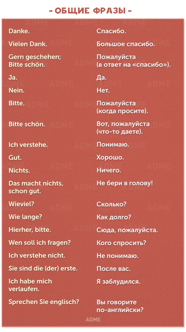 90 useful phrases in german for everyday communication