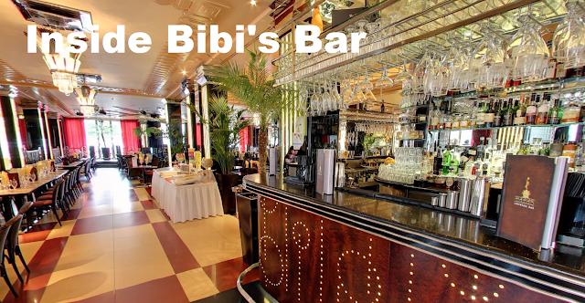 Interior of Bibi's in Leeds