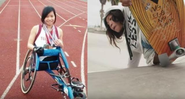Γεννήθηκε χωρίς πόδια – Σήμερα είναι αθλήτρια, χορεύτρια, σέρφερ και δεν το βάζει κάτω!
