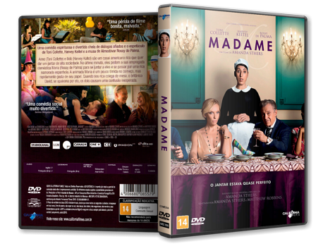 Capa DVD Madame