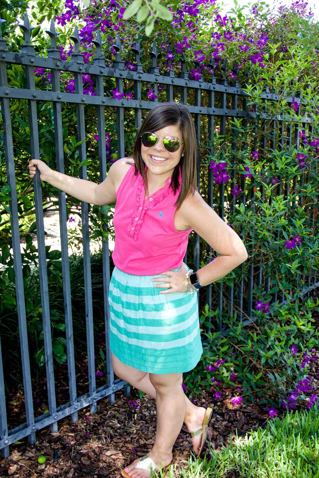 Summer Colors: Pink + Turquoise