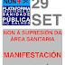 📣 Manifestación defensa sanidade pública (29sep'17)