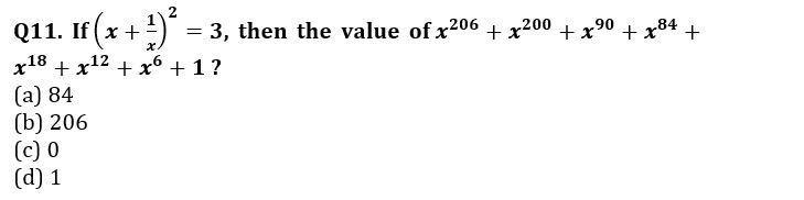 Algebra Questions for SSC CGL TIER-2 , SSC Stenographer & IB (ACIO) 2017_260.1