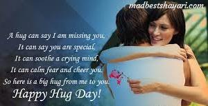 Hug Day wishing Image free download