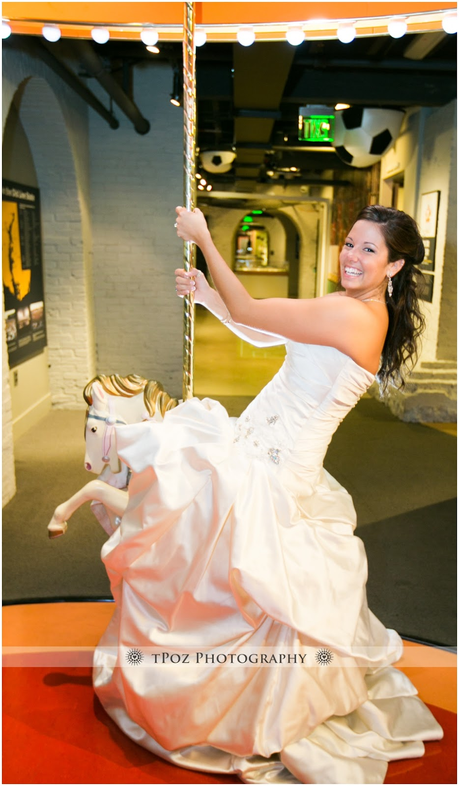 Baltimore Sports Legends Museum Wedding Reception