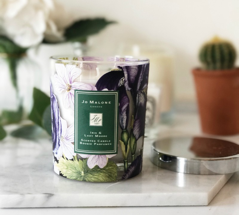 jo malone iris lady moore charity candle the sunday girl. Black Bedroom Furniture Sets. Home Design Ideas