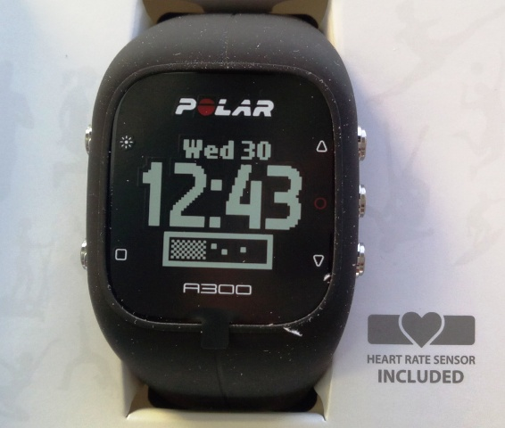 Polar A300 Fitness Activeness Tracker Amongst Oculus Charge Per Unit Of Measurement Sensor!