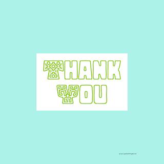 Say thank You DIY