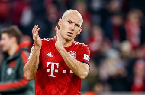 Robben một cầu thủ tài năng