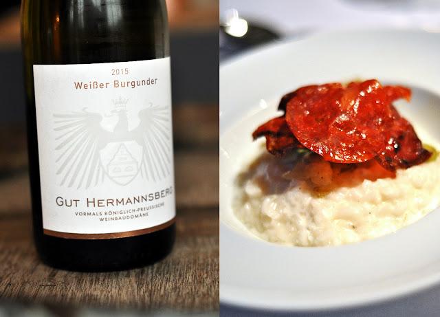 Weinschmecker-Menü Gut Hermannsberg 3 Gang