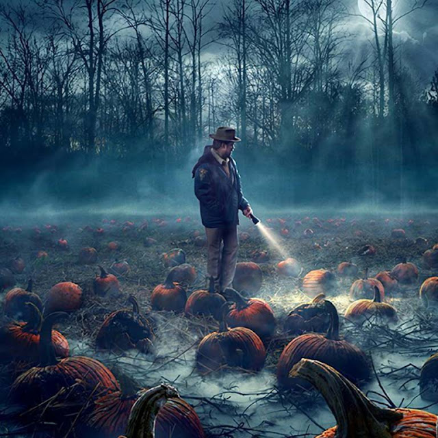 Pumpkin Field (Stranger Things) Wallpaper Engine