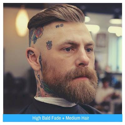 High Bald Fade, Model Rambut Pria, Model Rambut Terbaru,