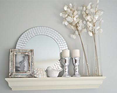 , Eclectic Shelf Decor