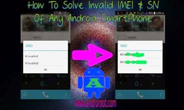 how to fix invalid imei after flashing rom