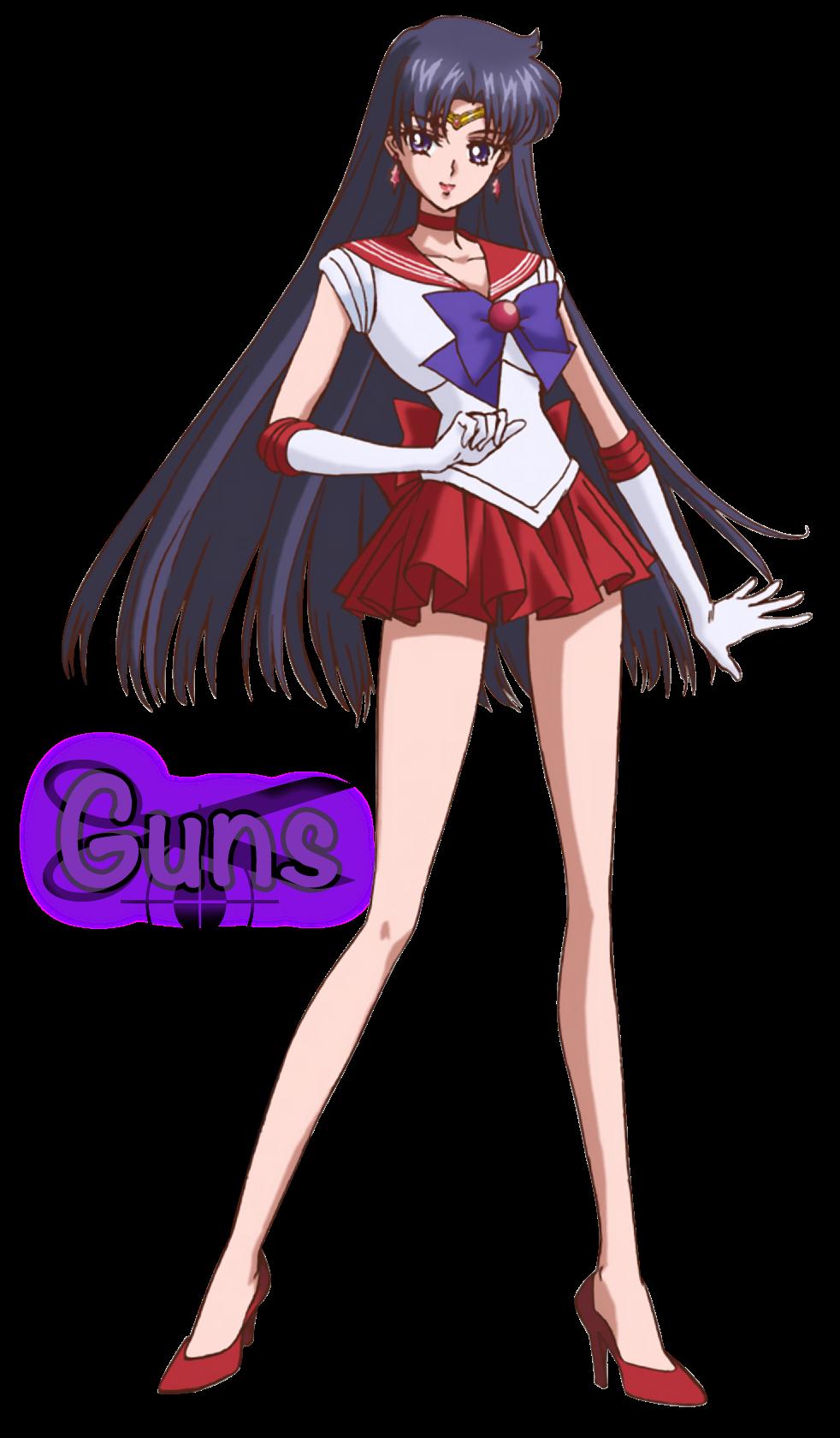 Render Sailor Marte (Rei Hino)