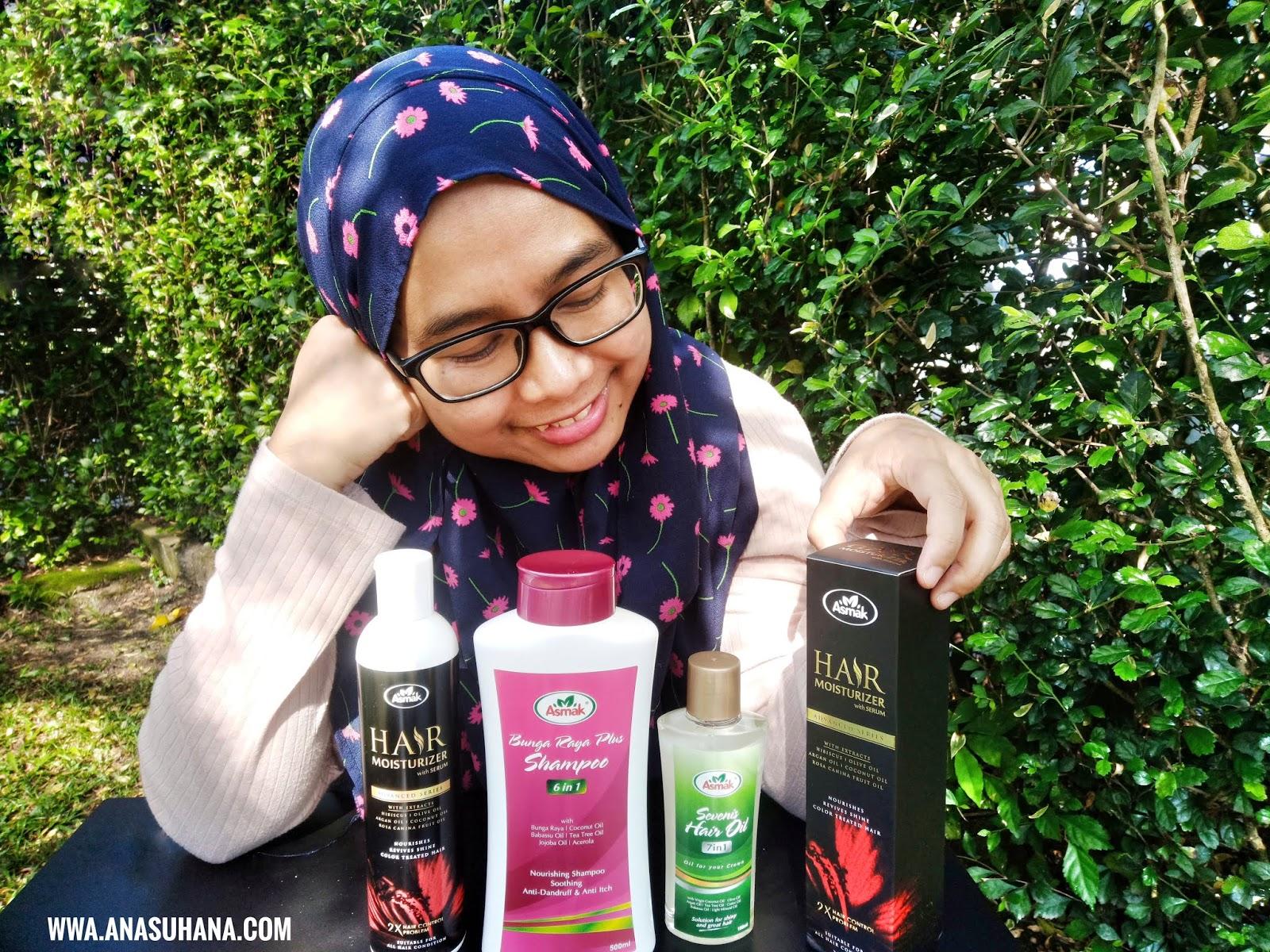 Syampu Wanita Bertudung Dari Asmak Hair Care