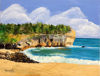 https://www.kauai-fine-art.com/listing/537154441/shipwrecks-beach-kauai-original-acrylic