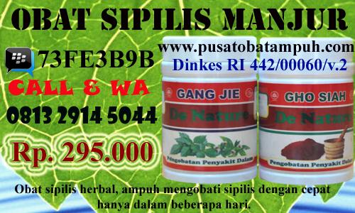 obat sipilis tradisional alami ampuh manjur