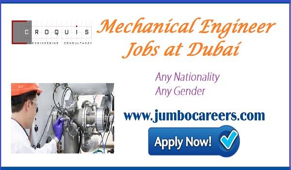 Recent Dubai jobs with salary, Mechanical engineer jobs in Dubai UAE May 2018,